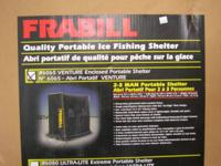 "Frabill ""Ventura"" Enclosed Portable Ice Fishing"