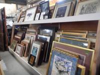 Framed Artwork.  Authorized Oils & Prints.  We likewise