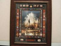 Four framed Gary Crouch Oil & Gas pictures for sale for