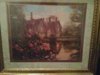 I have a very pretty framed house picture which is