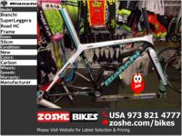 FRAMESET 50cm Bianchi SuperLeggera Road HC Frame.Zoshe