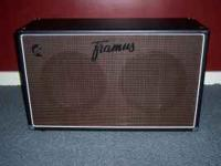 like new framus 2x12 bottum. vintage 30s 8 ohms 120w.