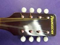 Franciscan Flat Leading F-hole Mandolin missing two