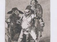 Francisco Goya The Little Prisoner; Tan Barbara la