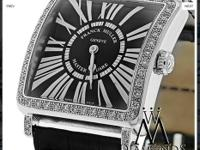 Original Franck Muller 6002 M Quartz Master with White