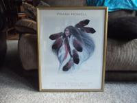 "For sale a signed Frank Howell lithograph "" Lakota"