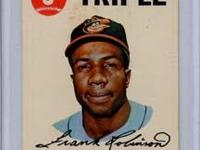 Frank Robinson 1968 Topps Game Card Near Mint Condition