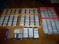Huge collection of Frank Zappa cassette tapes, with