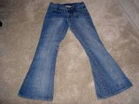 This is an authentic pair of Size 4 Frankie B Jeans