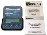 Model: MWD-1440 Includes Merriam-Webster Collegiate