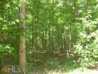 Wooded lot prepared for you to build your dream house!