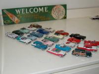 23 cars FRANKLIN MINT Classic Cars of the 50's 1:43