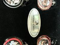 4 DALE EARNHARDT POCKET WATCHES  THEY COME IN A WOODEN