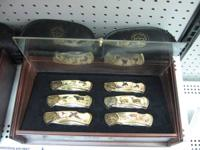 Description: Franklin Mint Model Collectors Knifes,