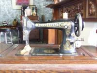 Franklin sewing piece of equipment healthy, every