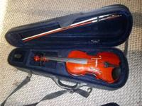 Bought this violin bundle for the granddaughter and she