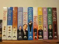 The entire 11 Seasons of Frasier on DVD. There are no