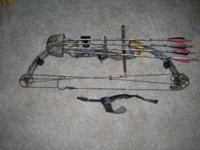 I have a Fred Bear Epic Extreme camoflauge hunting bow