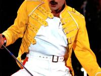 Freddie Mercury Yellow Concert Replica Jacket Actor:
