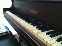 Free 1929 Chickering Piano Needs refurbishing and could