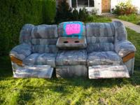 I have a 2 recliner sofa that I am giving away for