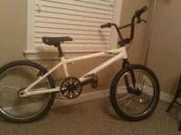 "This is a 2009 20"" Free Agent Eluder BMX bike. The bike"