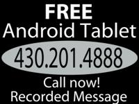 To qualify for a Free Android Tablet you have to answer