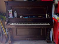 We have this piano that our landlord has left us. We