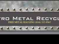 Kindly contact Metro Metal Recycling at  totally free