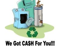Free appliances removal we go to you, just call us and