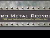 Please call Metro Metal Recycling at (816) 622-8456 for