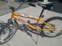 My son wants to give his bike to a good home. Its a