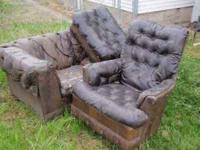 Free Couch **ONLY COUCH IS LEFT.**  Location: 16th Ave.