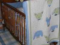 We have a FREE crib and changing table available. Both