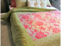 Enjoy free custom bedding and drapery designs using our