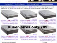 get a king sealy fate gel bed mattress only for 899 you