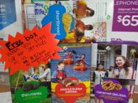 Free box of girl scout cookies when you sign up for