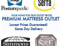 FREE LAYAWAY AT COSTS MATTRESS OUTLET STORES.  QUEEN