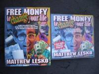 For sale: One used Free Money System by Matthew Lesko.