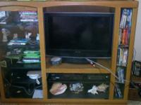 We have a nice entertainment center that were no longer