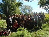 We are looking for people to join our paintball group,