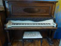 Beautiful old piano from the turn of the last century.