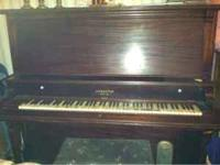 Free piano, all you have to do is come get it. It could