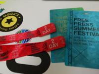 Wristbands will get you in to FPSF on both days