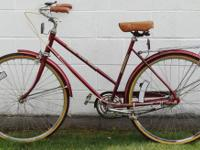 A Very Nice Free Spirit Ladies 3-Speed Cruiser with