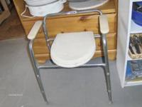We have a great INVACARE freestanding toilet seat for