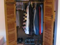 Merveilleux Free Standing Cedar Closet W Interior Light And Elec.