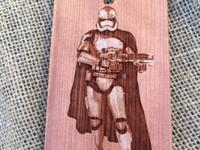 FREE LASER ENGRAVED WOOD PHONE CASE Complete a brief
