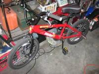 Great bmx racer or free style, strong 20in willing to