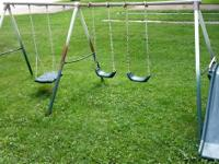 Moving. Need to give away this swing set. It's kind of